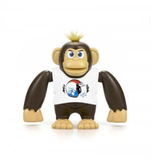 Интерактивная игрушка  Ycoo nFriends Обезьяна Чимпи, цвет: белый 15 см Silverlit