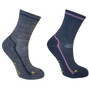 Носки , 2 пары Janus. Цвет: разноцветный