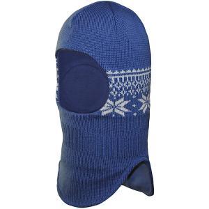 Комплект : шапка и варежки Janus. Цвет: синий