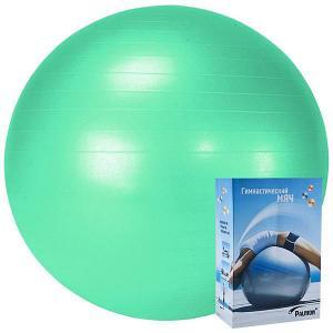 Гимнастический мяч  Стандарт 75 см, морская волна Palmon. Цвет: синий