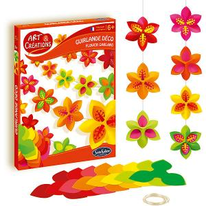 Набор для творчества SentoSpherE Гирлянда цветов