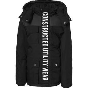 Демисезонная куртка Name it. Цвет: черный
