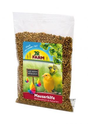 Подкормка  для волнистых попугаев и канареек Помощь при линьке, 30г JR Farm