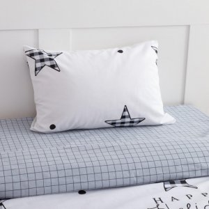 Постельное белье  1.5 спальное Звезды (3 предмета) Этель