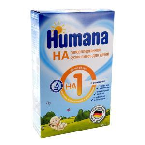 Молочная смесь  Гипоаллергенный 1 0-6 месяцев, 300 г Humana