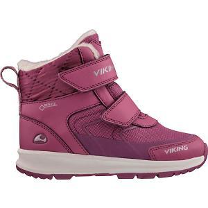 Утепленные Ботинки VIKING. Цвет: розовый