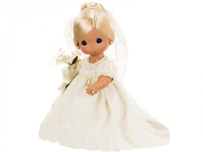 Кукла Зачарованные сны. Невеста блондинка 30 см Precious