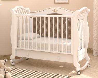 Детская кроватка  Габриэлла Люкс Плюс качалка Гандылян
