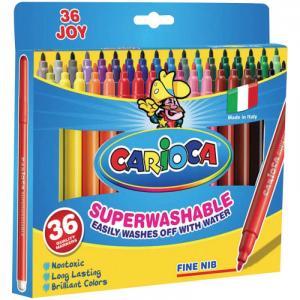 Фломастеры  Joy 30 цветов 36 шт. Carioca
