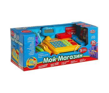 Игровой набор с кассой Мой магазин Play Smart