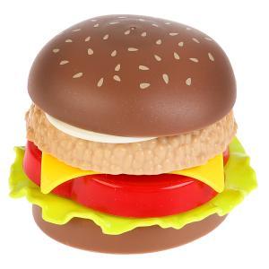 , Набор еды пластик гамбургер составной No Name