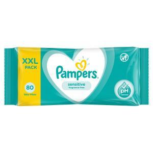 Влажные салфетки  Sensitive Value, 80 шт Pampers