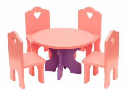 Столик с четырьмя стульчиками Краснокамская игрушка