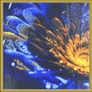 Мозаичная картина Свечение Color Kit