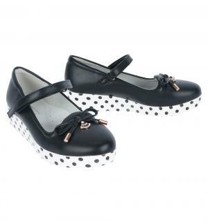 Туфли , цвет: черный Счастливый Ребенок