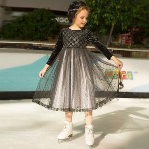 Платье Unona. Цвет: черный