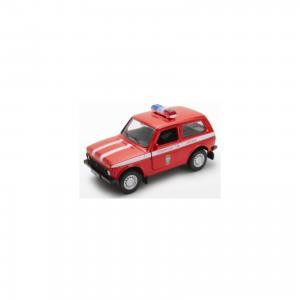 Модель машины 1:34-39 LADA Пожарная охрана Welly