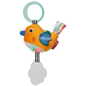 Развивающая игрушка- подвеска  «Птичка» Skip Hop. Цвет: оранжевый