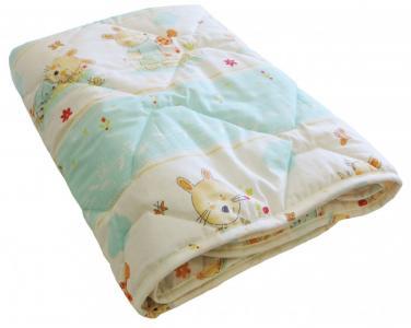 Одеяло  Зайчик-садовод 110х140 см Soni Kids