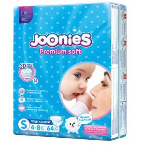 Подгузники  Premium Soft (4-8 кг) шт. Joonies