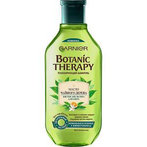 Шампунь для волос  Botanic rapy Чайное дерево, цветки апельсина и алоэ, 400 мл Garnier
