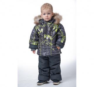 Зимний комплект для мальчика Полоса Alex Junis