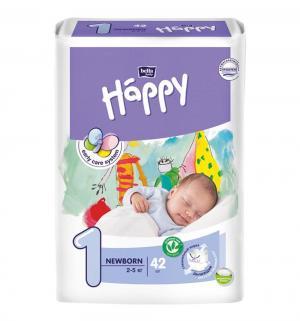 Подгузники  Baby Happy Newborn 1 (2-5 кг) 42 шт. Bella
