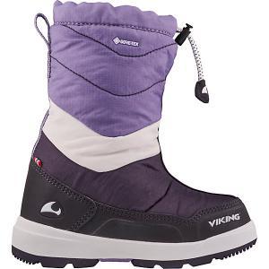Сапоги Viking Halden GTX. Цвет: фиолетовый
