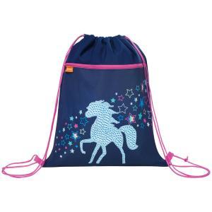 Мешок для обуви  Earnest Rainbow Horse Tiger Enterprise. Цвет: синий