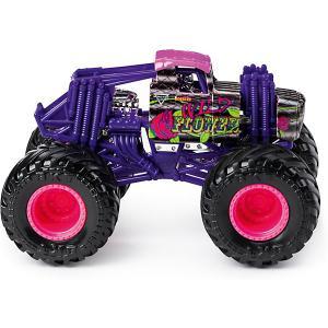 Мини-машинка  Monster Jam Wild flower Spin Master. Цвет: разноцветный
