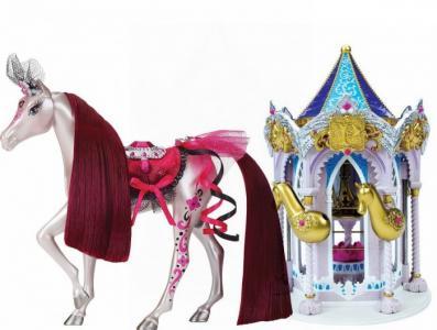 Набор Пони Рояль: карусель и королевская лошадь Роза Pony Royal