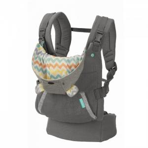 Рюкзак-кенгуру  Cuddle up ergonomic hoodie carrier Infantino