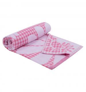 Полотенце Мишки , цвет: розовый Артпостель