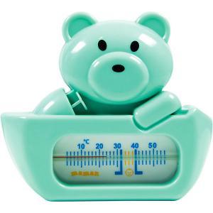 Термометр для воды Maman RT-32, мишка. Цвет: бирюзовый