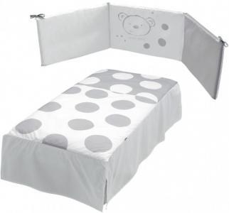 Комплект в кроватку  Бортик и покрывало Sweet Bear Micuna