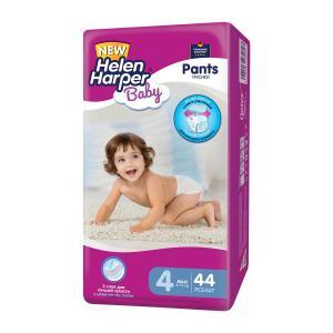Трусики-подгузники  Baby, р. 4, 8-13 кг, 44 шт Helen Harper