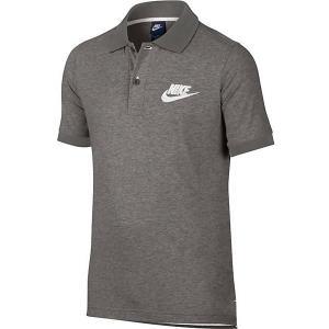 Поло Nike. Цвет: серый