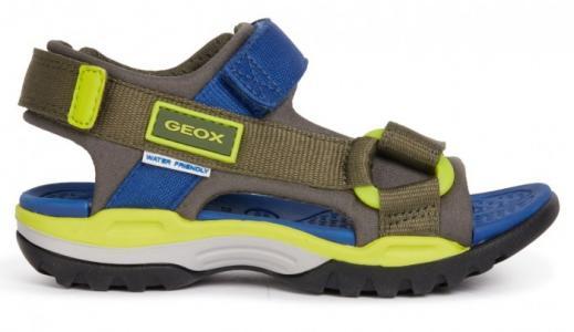 Туфли летние открытые J Borealis Boy Geox