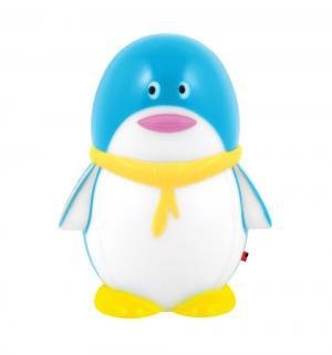 Светильник-ночник  NL 1LED Пингвин, декоративный, цвет: голубой Старт