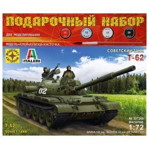 Модель  Советский танк Т-62 Моделист