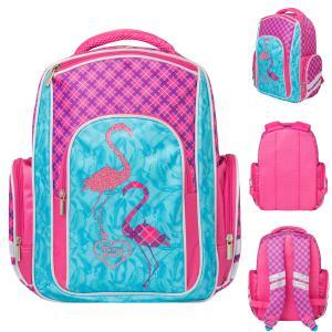 Ранец  Flamingo Action!. Цвет: голубой