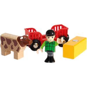 Игровой набор Brio Мальчик на ферме