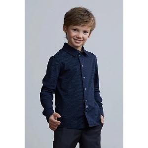 Рубашка Silver Spoon. Цвет: синий