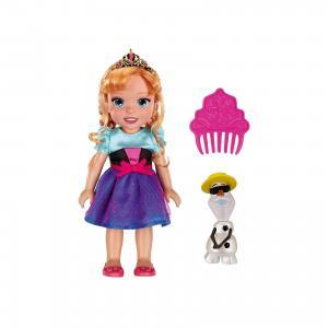 Кукла-малышка Холодное Сердце со снеговиком - Анна, 15 см Jakks Pacific