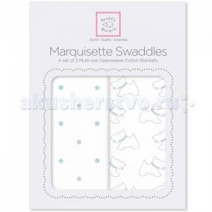Пеленка  Marquisette Swaddling Blanket 2 шт. SwaddleDesigns