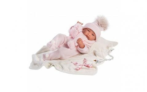 Кукла младенец Тина 43 см Llorens