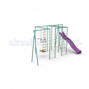 Детский спортивный комплекс Макси с горкой СпортОкей