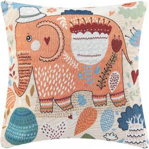 Подушка декоративная 43*43 см. Слон, EL Casa