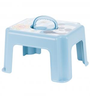 Табурет-подставка  Панда, цвет: голубой М-Пластика