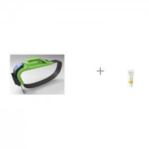 Адаптер ремня безопасности для беременных и Ланолиновый крем сосков Medela Insafe
